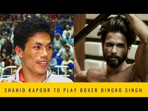 Shahid Kapoor to play boxing hero Dingko Singh in his next