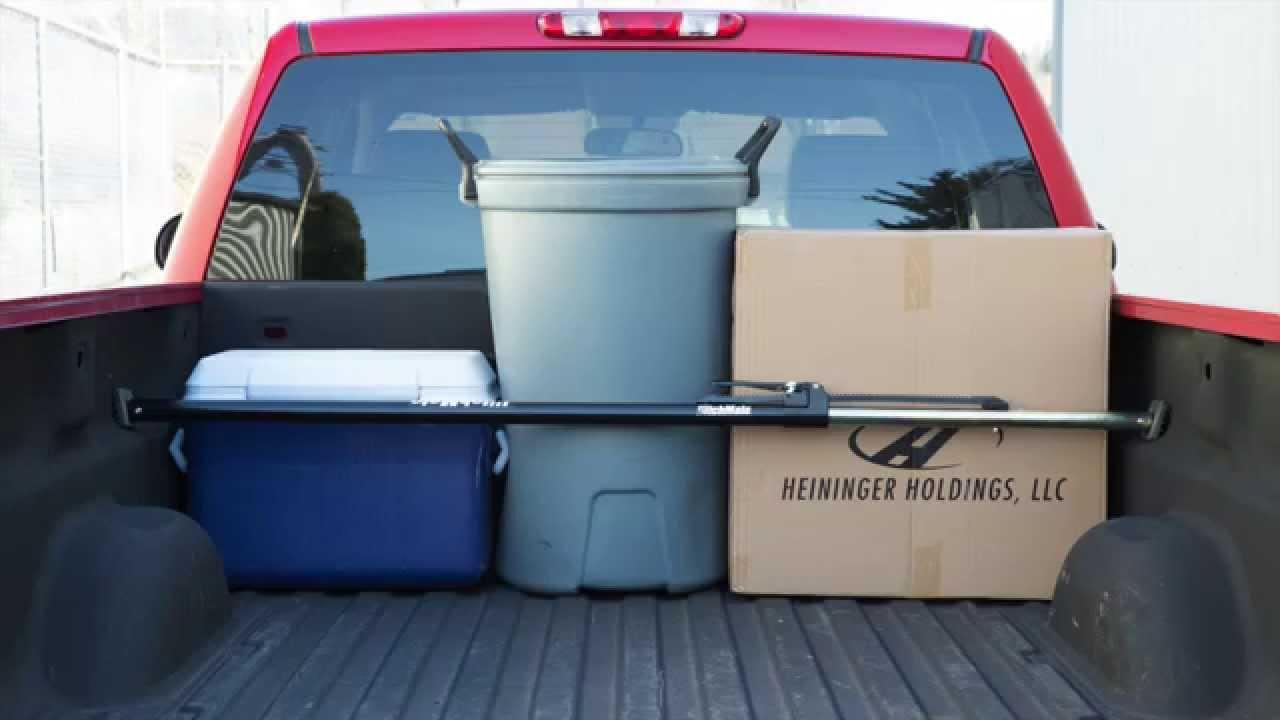 Heininger 4016 HitchMate Cargo Stabilizer Bar for Full-Size Trucks