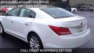 2015 Buick LaCrosse Leather for sale in Springfield, OR 9747