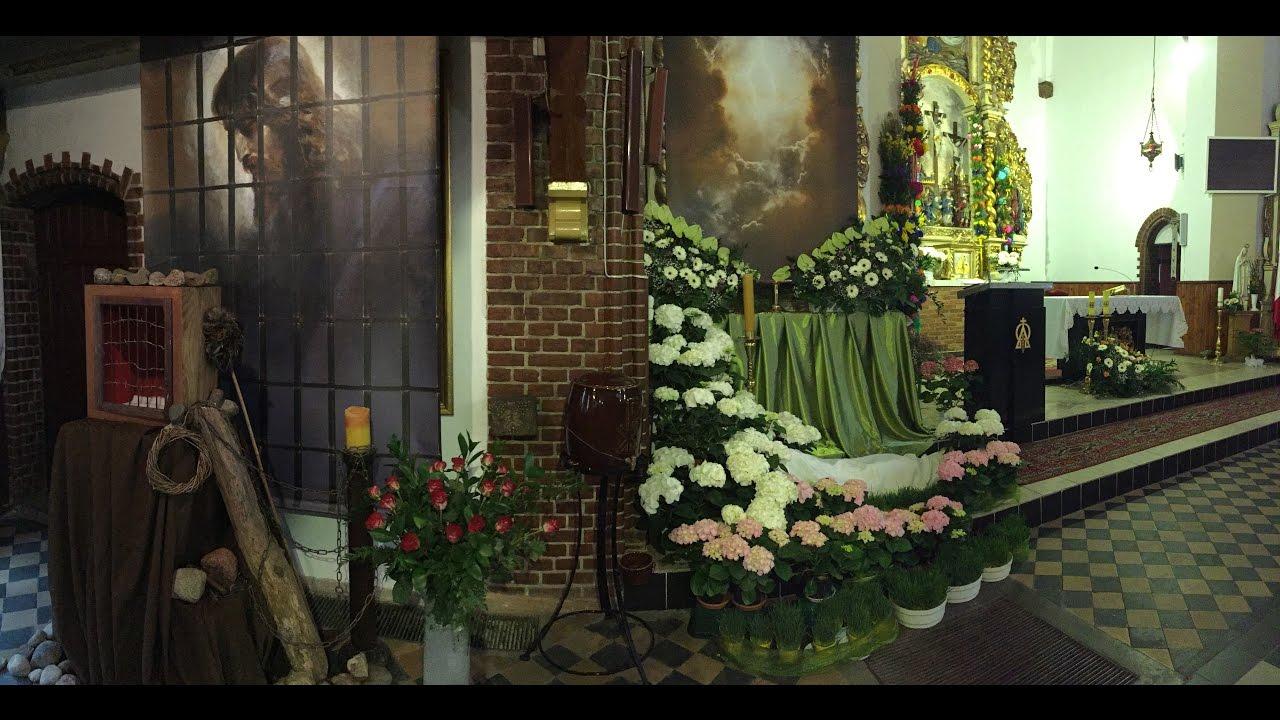 Wystrój Kościoła Na Wielkanoc 2017