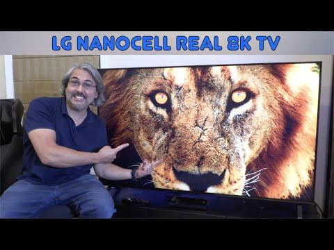 NUEVO LG NANOCELL TV 8K DE LO NORMAL A LO MÁS GRANDE Ideal para GAMING
