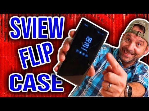 The Coolest Phone Case! S-View Flip Cover by Samsung for the Note 8! kickstand