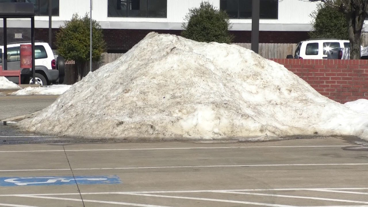 City still cleaning up after Winter Storm