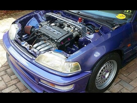 Killacam's EF Civic Hatch B20 VTEC Build Update (250 WHP est.)