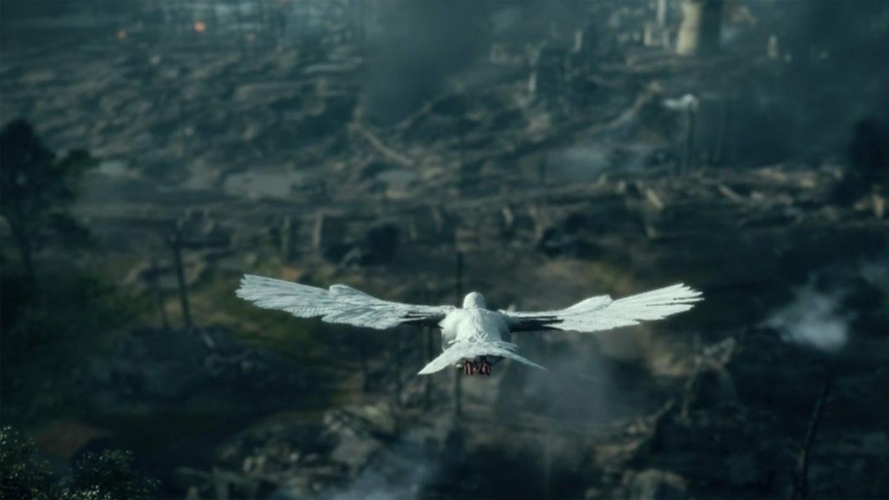 Battlefield 1 - BEAUTIFUL Pigeon Scene