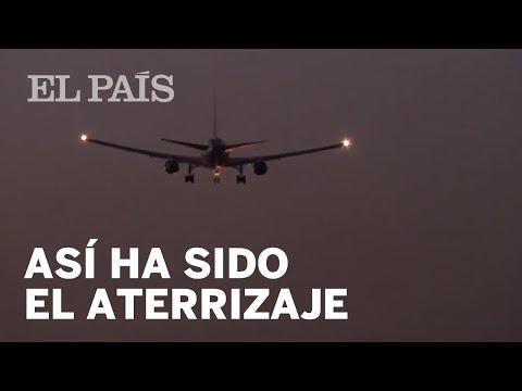 AIR CANADA | El avion ATERRIZA en BARAJAS de EMERGENCIA
