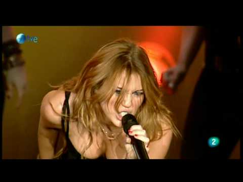 Miley Cyrus - Breakout  - Live at Rock in Rio Madrid 2010