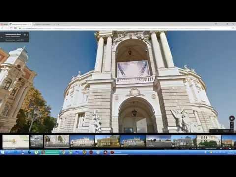 Обзор Одессы. Google Maps