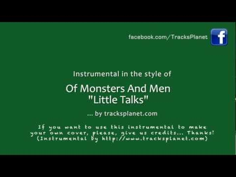 Little Talks - Instrumental Version in the style of Of Monsters and Men