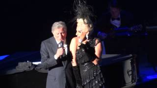 Tony Bennett & Lady Gaga - I won't Dance - Vancouver 25 May, 2015
