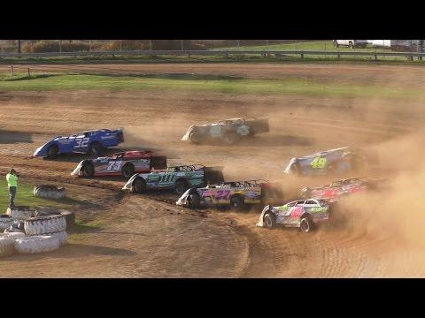 RUSH Crate Late Model Heat One | McKean County Raceway | Fall Classic | 10-15-16