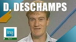 Didier Deschamps, jeune joueur au FC Nantes   Archive INA
