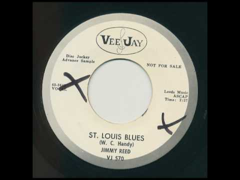 JIMMY REED on promo VeeJay 570 - St. Louis Blues (W. C. Handy),