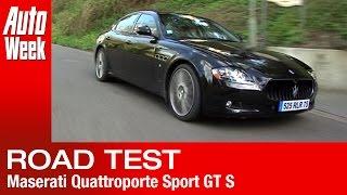 Maserati Quattroporte Sport GT S roadtest (English subtitled)
