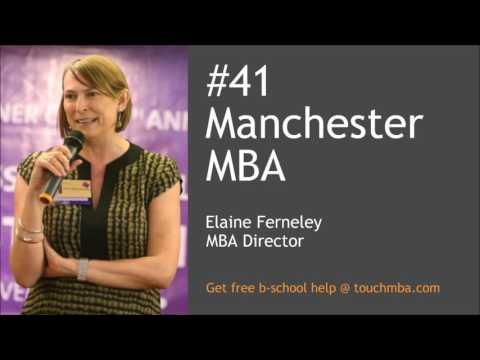 Manchester Business School MBA Admissions Interview with Elaine Ferneley - Touch MBA Podcast
