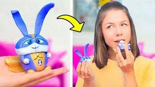 9 Seltsame Make-Up-Ideen / Make-Up Im Cartoon-Stil