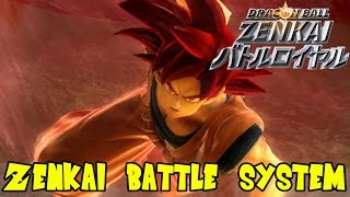 Dragon Ball Zenkai Battle Royale: Attack & Special Move Combo System (Beerus, Goku, Kid Buu)