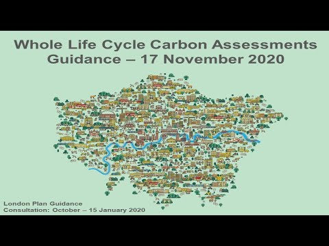 Whole Life Cycle Carbon - Technical Overview - 17 November 2020