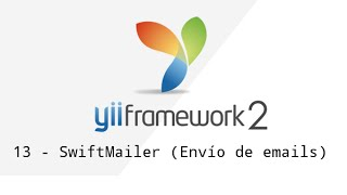 13 - Yii Framework 2 - SwiftMailer (Envío de emails)