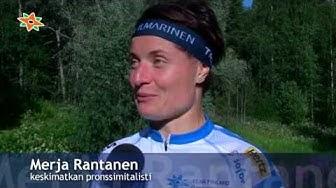 Vuokatin MM-kisat , Merja Rantanen, keskimatkan pronssimitalisti
