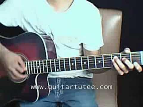 Crossroad (of Yui, by www.GuitarTutee)