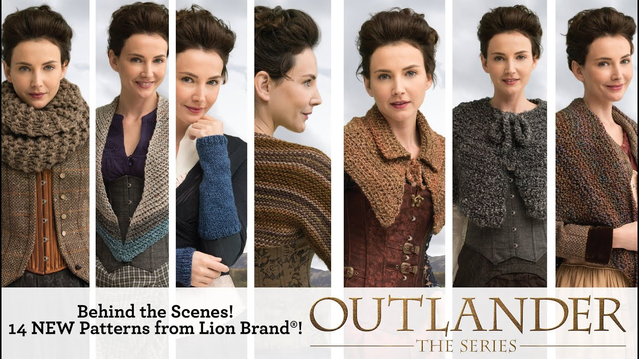 Behind The Scenes 14 New Patterns Inspired By Outlander The Series Youtube