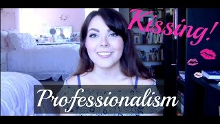 Kissing Onstage? Watch This!   Professionalism
