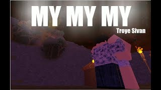 My My My by Troye Sivan [ROBLOX MUSIC VIDEO]