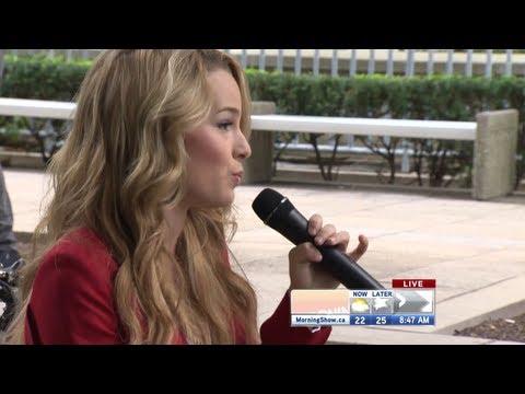 Bridgit Mendler performs