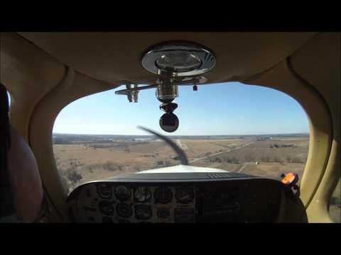 Beechcraft Model 77 Skipper landing Brantford Airport Runway 23