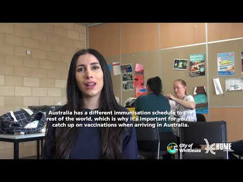 Hume Whittlsea Refugee and People Seeking Asylum Immunisation Program