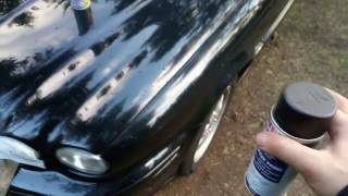 Покраска Jaguar КРАСКОЙ ИЗ ХОЗ-МАГА. В ЛЕСУ. ОЧЕВИДНОЕ-НЕВЕРОЯТНОЕ!