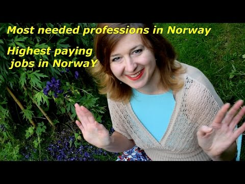 Most Needed Professions In Norway Until 2030. Highest Paying Jobs In Norway
