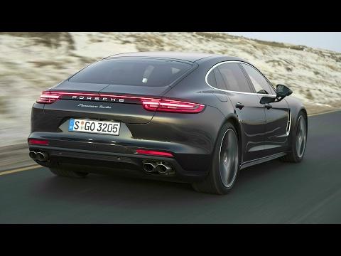 2017 Porsche Panamera Turbo Executive Volcano Grey - Awesome Drive 550 hp