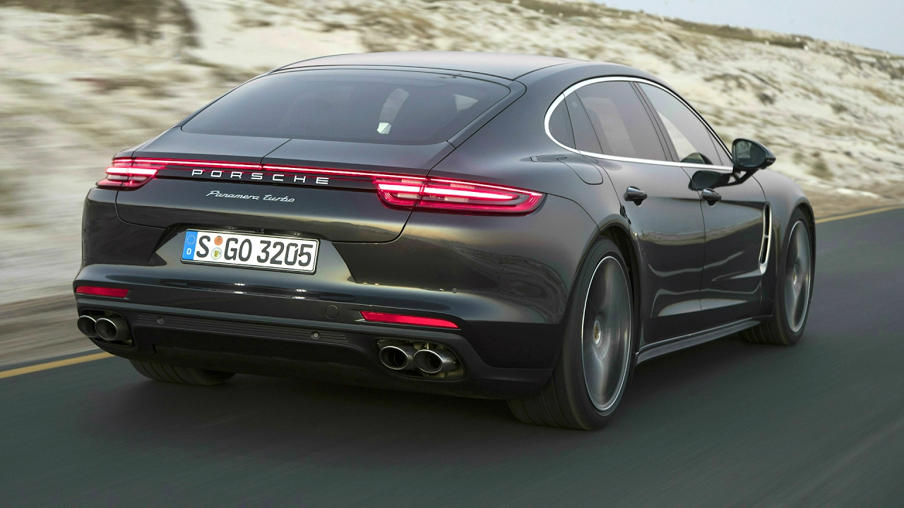 Porsche Panamera Turbo Executive Volcano Grey Awesome Drive 550 Hp Youtube