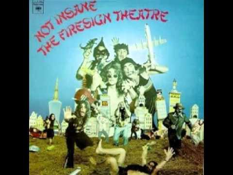 Firesign Theatre - Not Insane