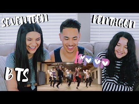 COUPLE REACTING TO K-POP (BTS, PENTAGON, SEVENTEEN)