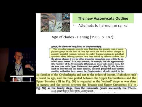 02 Thorsten Lumbsch  The new Ascomycete outline