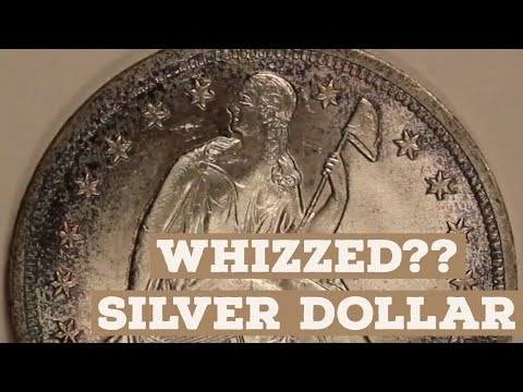 How To Identify WHIZZED Coins: Learn From This 1843 Seated Liberty Silver Dollar!