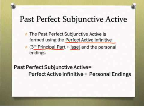 past perfect subjunctive active youtube. Black Bedroom Furniture Sets. Home Design Ideas