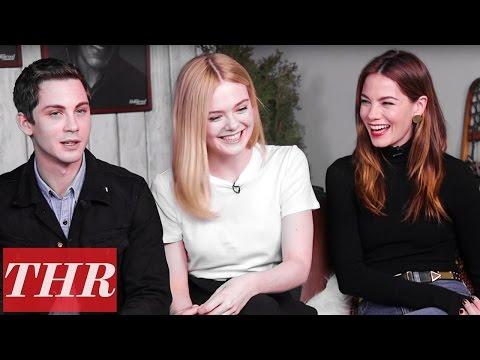 Elle ning, Michelle Monaghan, Logan Lerman & Blake Jenner Discuss 'Sidney Hall'  Sundance 2017