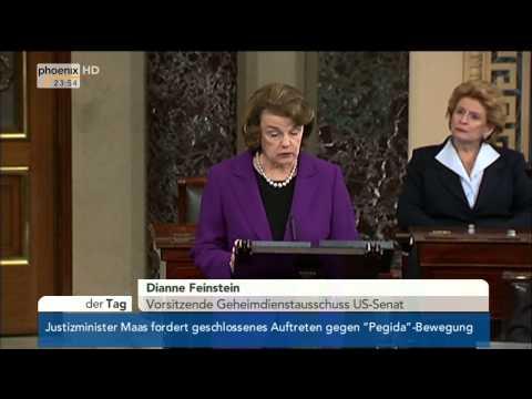 Folter der CIA: Dianne Feinstein zum Bericht des US-Senats am 09.12.2014