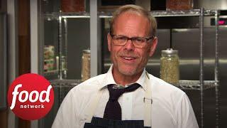 Alton's Cutthroat After-Show: Breakfast Waffle | Food Network