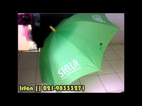 Payung Promosi, Payung untuk iklan produksi, jasa, golf, asuransi, kampus, dll Telp. 021-98333271