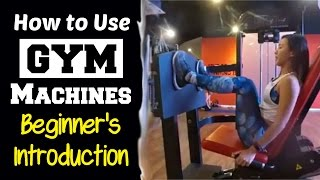 How to Use Gym Machines - Complete Beginner's Introduction | Joanna Soh(Step by step guide to use 11 Basic Gym Equipments. This video was recorded live on Facebook. Do excuses the bad audio and lighting. XD ♥ Get to know each ..., 2017-01-23T12:42:28.000Z)