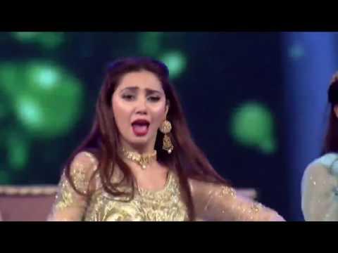 Mahira Khan,Humayun Saeed&Mohsin Abbas Performance 15th Lux Style Awards 2016