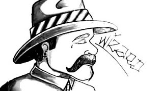 Drawing a Cholo By WIZARD - Miami Bass- (Bass Wars)