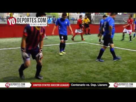 Centenario vs. Deportivo Llanero United Soccer League