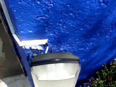 Lampara con fotocelda para exteriores  YouTube