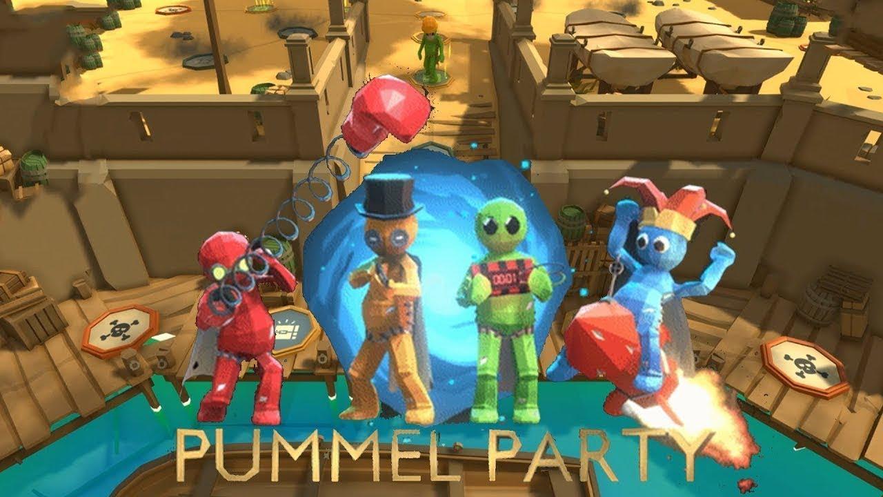ОБЩЕНИЕ СО ЗРИТЕЛЯМИ, ЗАКАЗ МУЗЫКИ.Приятный вечер в настольной игре Pummel Party!